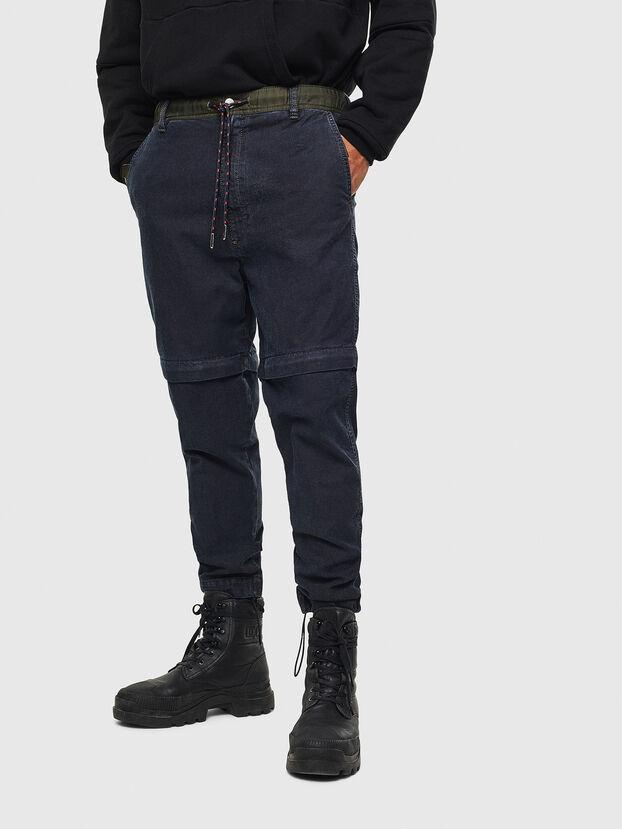D-Everi JoggJeans 009BI, Dark Blue - Jeans