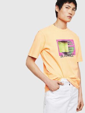 T-JUST-NEON-S1, Orange - T-Shirts