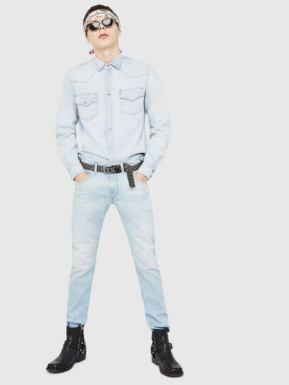 Diesel - D-EAST-P,  - Denim Shirts - Image 5