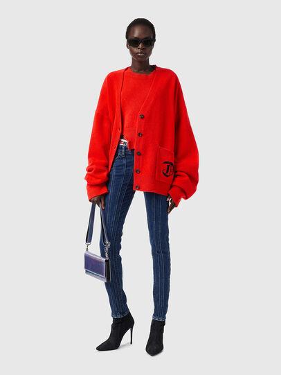 Diesel - M-LOUISIANA, Orange - Knitwear - Image 4