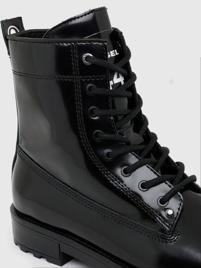 Diesel - D-THROUPER DBB ZC, Black - Boots - Image 4