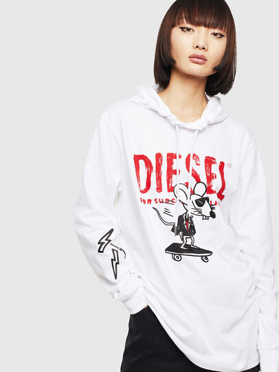 Diesel - CL-T-JUST-LS-HOOD,  - T-Shirts - Image 2