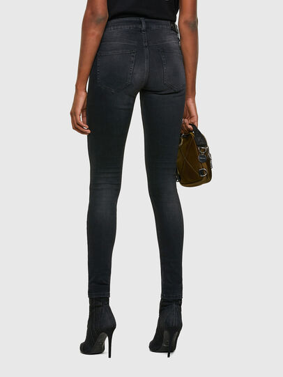 Diesel - Slandy 069SB, Black/Dark grey - Jeans - Image 2