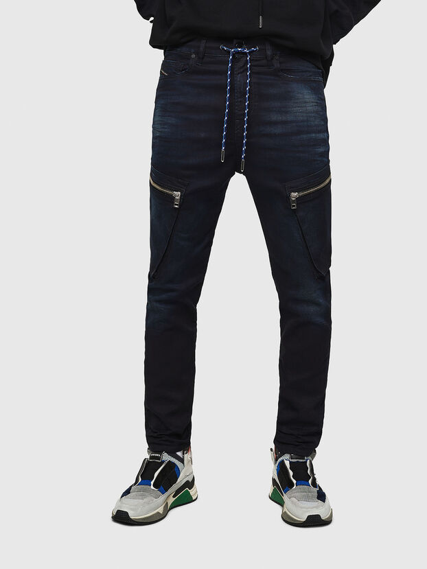 D-Vider JoggJeans 069IC, Dark Blue - Jeans