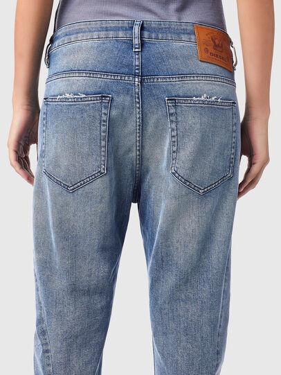 Diesel - Fayza 09B16, Light Blue - Jeans - Image 4