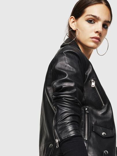 Diesel - L-LYFA,  - Leather jackets - Image 5