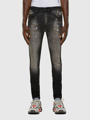 D-Reeft JoggJeans 009FX, Black/Dark grey - Jeans