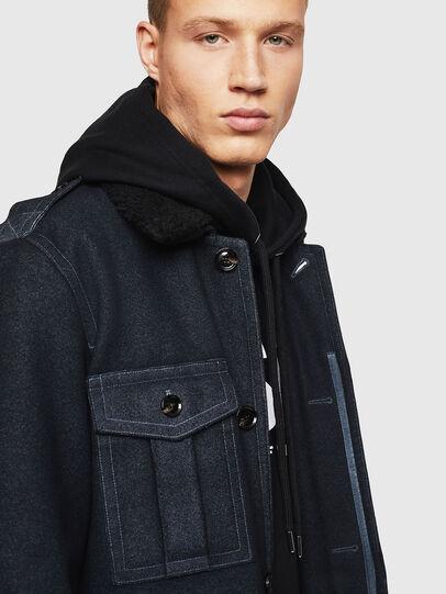 Diesel - W-TIMOTEV, Black - Winter Jackets - Image 3