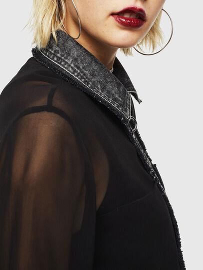Diesel - D-RAHAN-A, Black - Dresses - Image 5