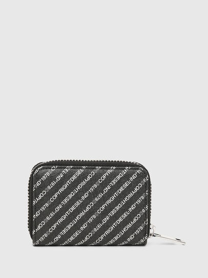 Diesel - JAPAROUND, Black/White - Zip-Round Wallets - Image 2