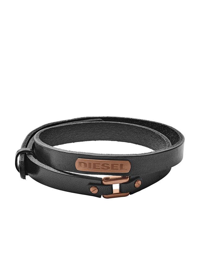 Diesel BRACELET DX1093, Black - Bracelets - Image 1