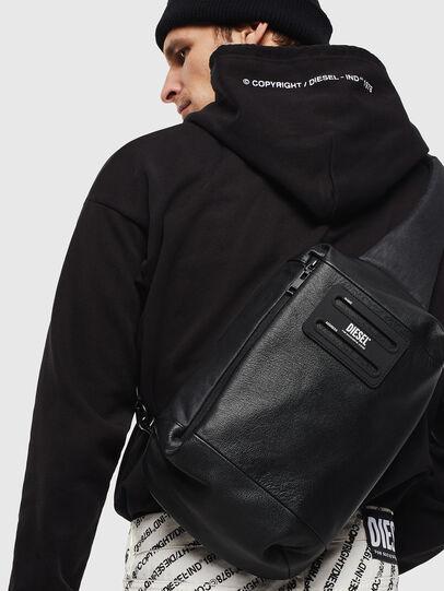 Diesel - D-SUBTORYAL MONO II, Black - Backpacks - Image 8