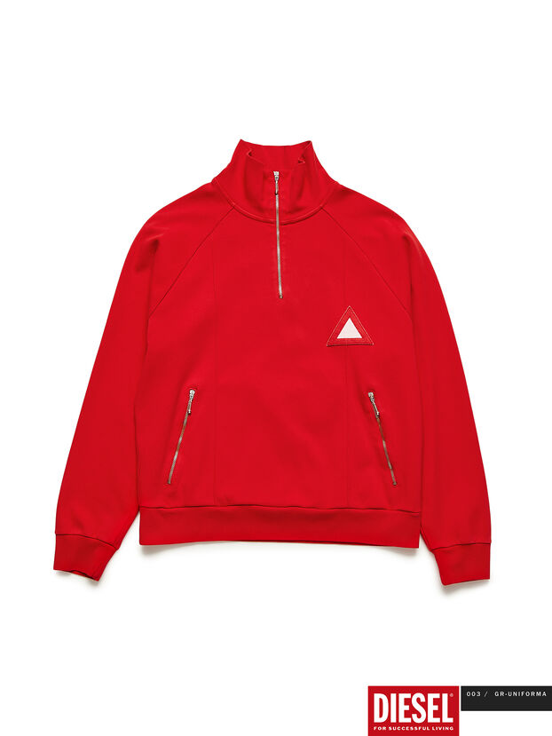 GR02-J302, Red - Sweatshirts