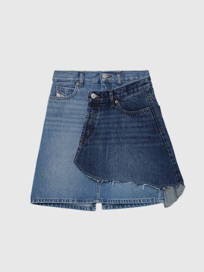 Diesel - GETOBY, Blue - Skirts - Image 1