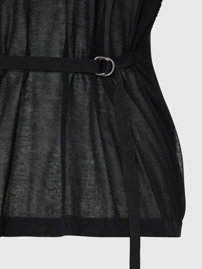 Diesel - M-ABBIE, Black - Knitwear - Image 3