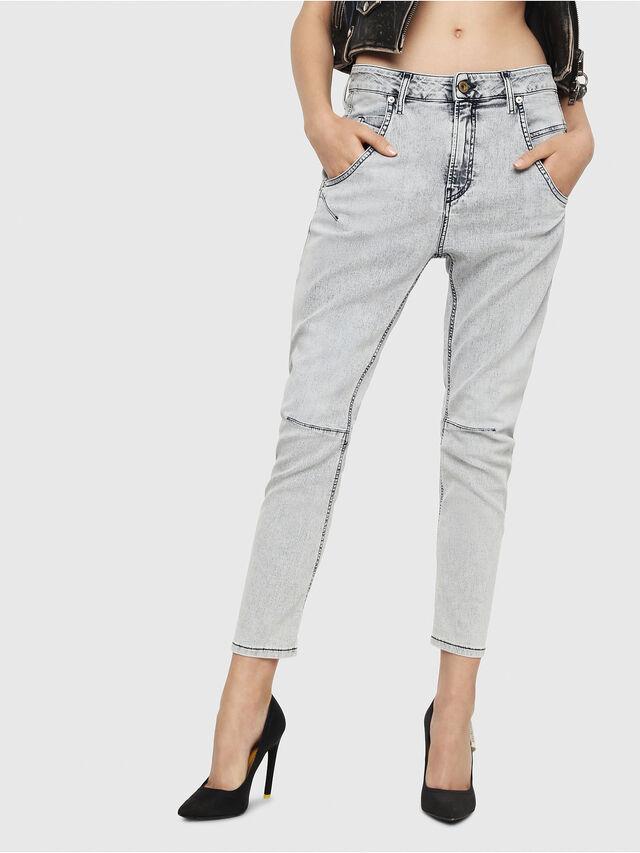 Diesel - Fayza JoggJeans 069FE, Light Blue - Jeans - Image 1