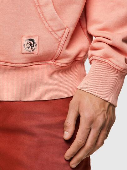 Diesel - S-GIRK-HOOD-MOHI-B1, Pink - Sweaters - Image 3