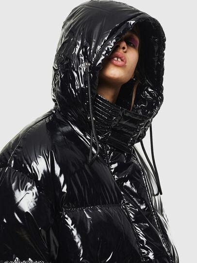 Diesel - W-ALLA, Black - Winter Jackets - Image 3