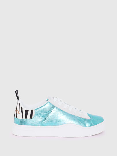 Diesel - S-CLEVER LOW LACE W, Azure - Sneakers - Image 1
