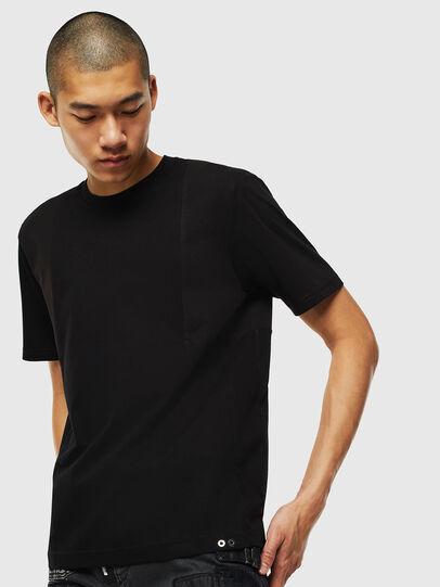 Diesel - T-TOMI, Black - T-Shirts - Image 1