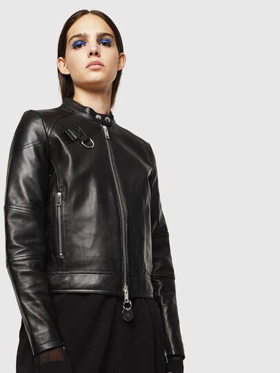 Diesel - L-SUZA,  - Leather jackets - Image 7