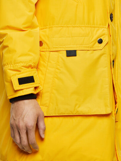 Diesel - W-COLBY, Yellow - Winter Jackets - Image 4
