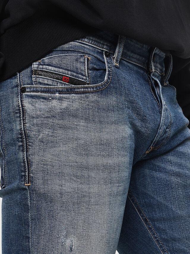 Diesel - Sleenker 069FI, Medium blue - Jeans - Image 3