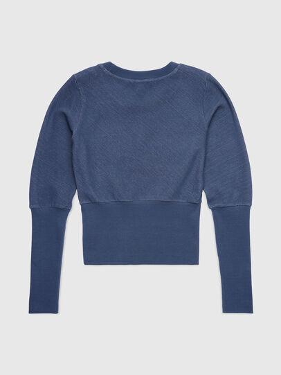 Diesel - UFLT-WILLAS-DW, Blue - Sweaters - Image 2