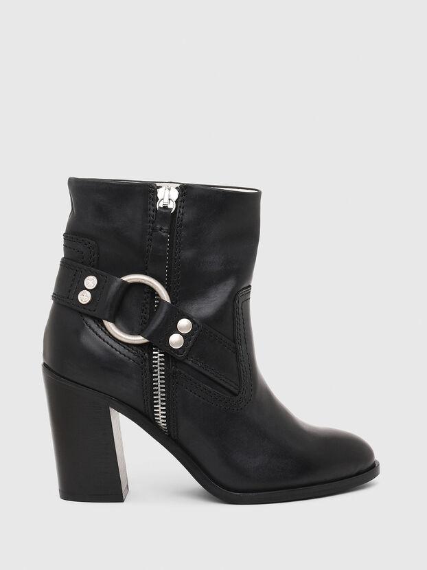 D-FLAMINGO ABZ, Black - Ankle Boots