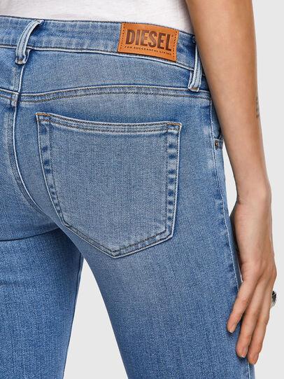 Diesel - Slandy Low 009ZY, Light Blue - Jeans - Image 4