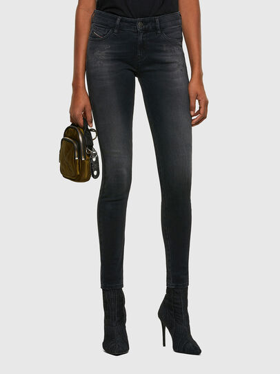 Diesel - Slandy 069SB, Black/Dark grey - Jeans - Image 1