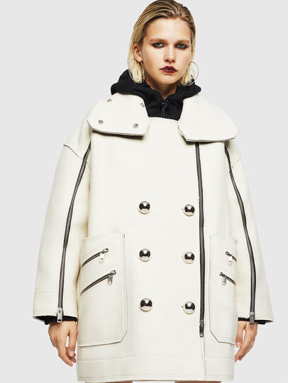Diesel - W-UDAMYS, White - Winter Jackets - Image 1