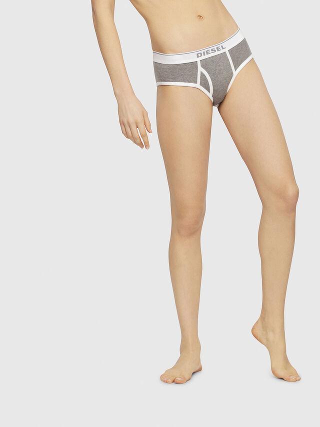 Diesel - UFPN-OXY, Grey Melange - Panties - Image 1