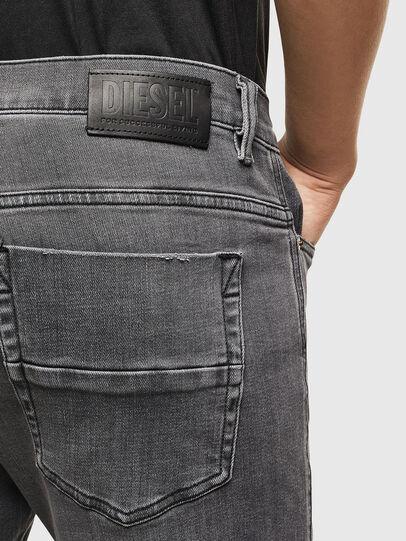 Diesel - D-Amny 009AJ, Black/Dark grey - Jeans - Image 4