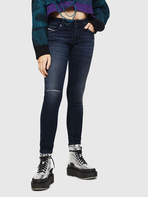 Slandy Low 0870C, Dark Blue - Jeans