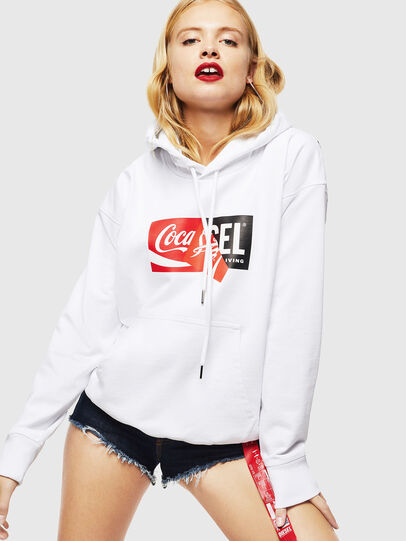 Diesel - CC-S-ALBY-COLA, White - Sweaters - Image 2