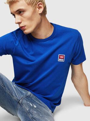 T-DIEGO-DIV, Brilliant Blue - T-Shirts