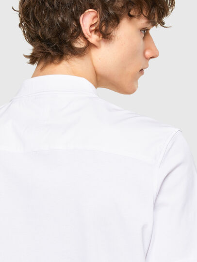 Diesel - T-ERPOLOCK, White - Polos - Image 4