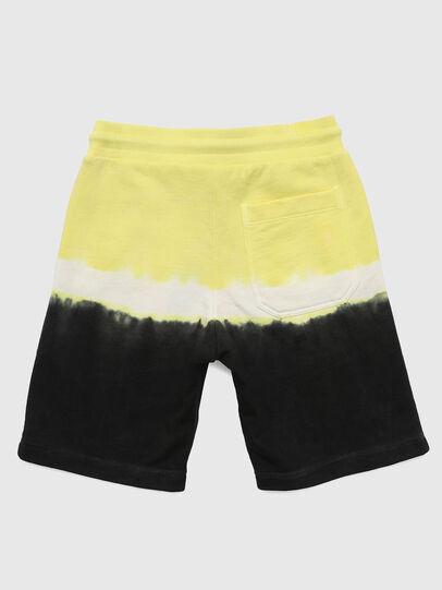 Diesel - PTOXDEEP, Black/Yellow - Shorts - Image 2