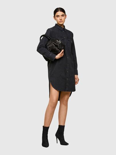 Diesel - DE-BLANCHE, Black - Dresses - Image 4