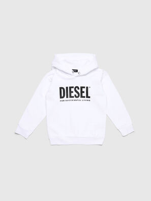 SDIVISION-LOGO OVER, White - Sweaters