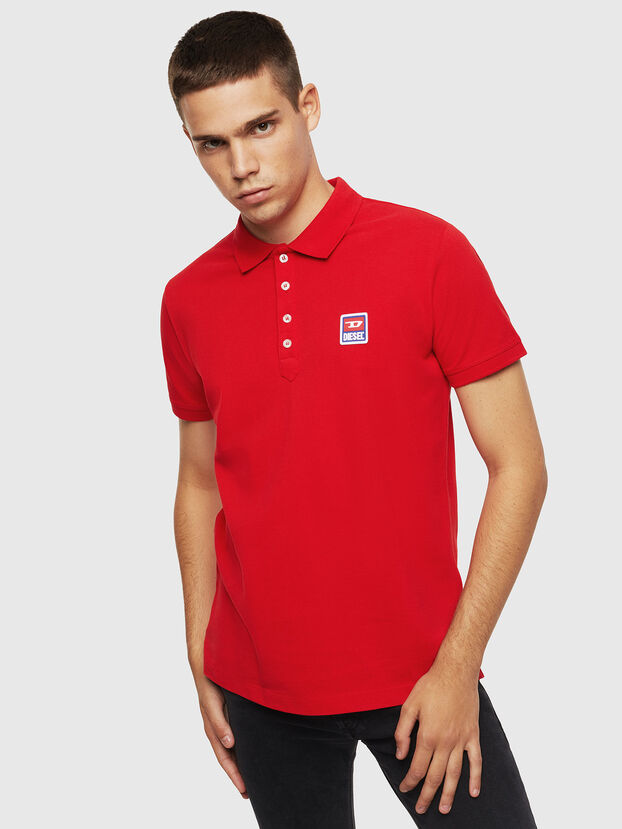 T-KAL-PATCH, Red - Polos