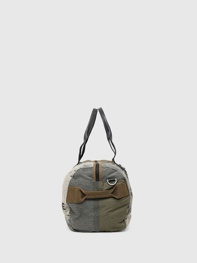 Diesel - D-THISBAG TRAVEL BAG, Olive Green - Travel Bags - Image 3