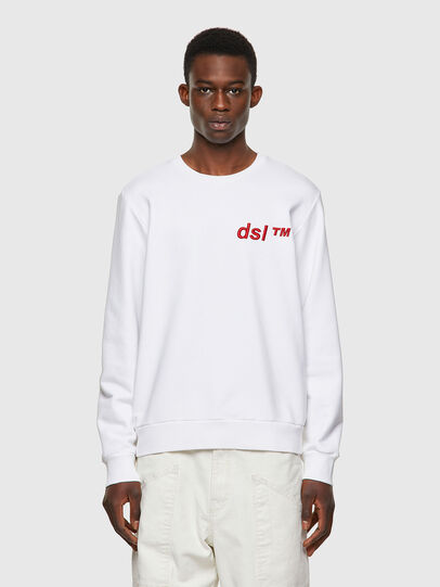 Diesel - S-GIRK-B3, White - Sweaters - Image 1
