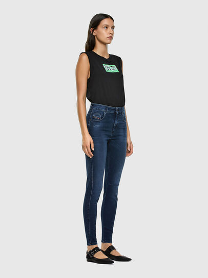 Diesel - Slandy High 009LR, Medium blue - Jeans - Image 5