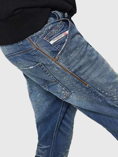 Diesel - Krooley JoggJeans 069HG, Medium blue - Jeans - Image 4