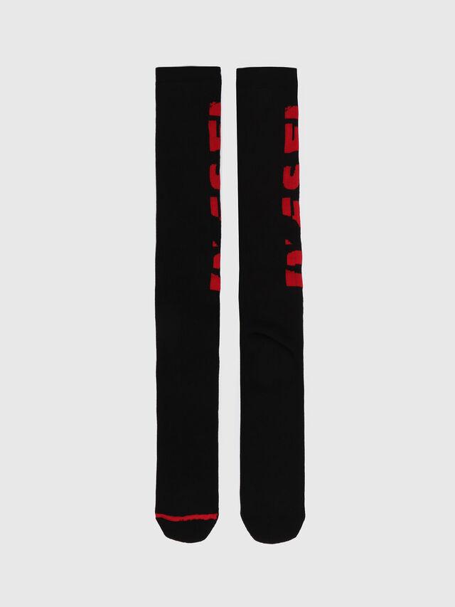 Diesel - SKM-LONG, Red - Socks - Image 1