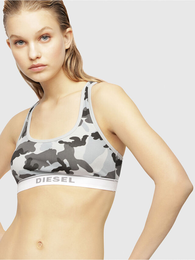 Diesel - UFSB-MILEY, Grey/White - Bras - Image 1