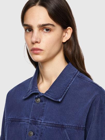 Diesel - DE-JALYN, Blue - Denim Jackets - Image 4
