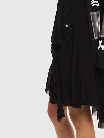 Diesel - O-BURNETT, Black - Skirts - Image 5